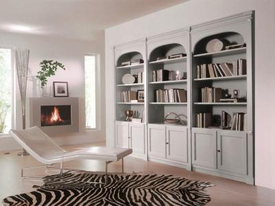 Egyszerűség - nappali ötlet, klasszikus stílusban