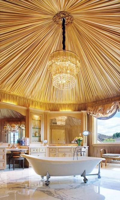 Fürdőszobaburkolat41 - belső továbbiak ötlet, klasszikus stílusban
