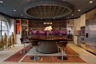 Konyha a luxus loftban // HOMEINFO.hu - Inspirációtár