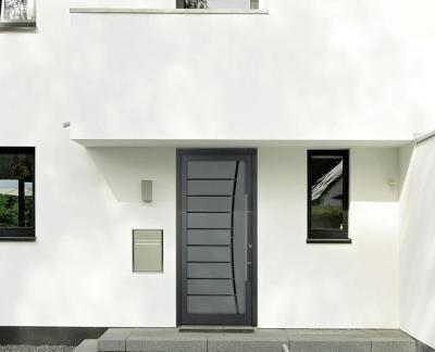 Bejárati ajtó - bejárat ötlet, modern stílusban