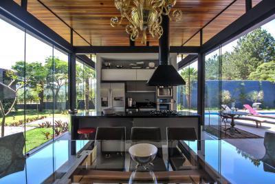 Sao Paolo ház10 - konyha / étkező ötlet, modern stílusban