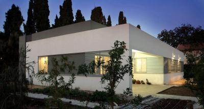 Izraeli ház1 - homlokzat ötlet