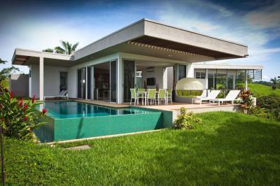 Ház Costa Ricán1 - erkély / terasz ötlet, modern stílusban