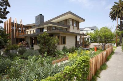 Venice Beach ház1 - homlokzat ötlet, modern stílusban