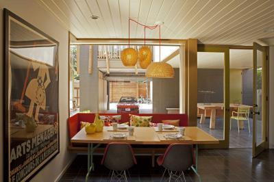 Venice Beach ház6 - konyha / étkező ötlet, modern stílusban