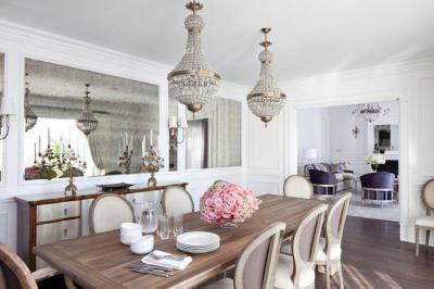Letisztult, klasszikus konyha - konyha / étkező ötlet, klasszikus stílusban