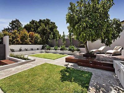 Kert,udvar - kert / udvar ötlet, modern stílusban