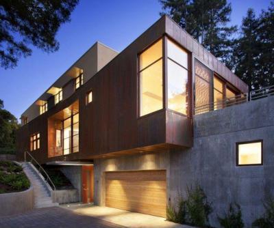 Kültéri homlokzatok43 - homlokzat ötlet, modern stílusban