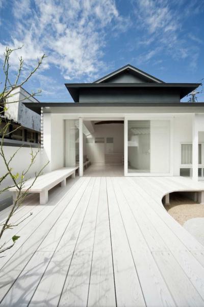 Kültéri homlokzatok70 - homlokzat ötlet, modern stílusban