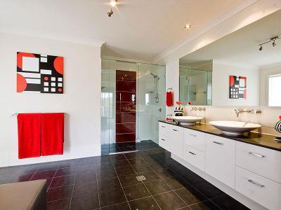 Gyönyörű fürdőszoba63 - fürdő / WC ötlet, modern stílusban