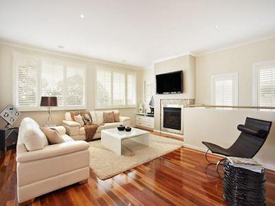 Kandallós házak51 - nappali ötlet, modern stílusban