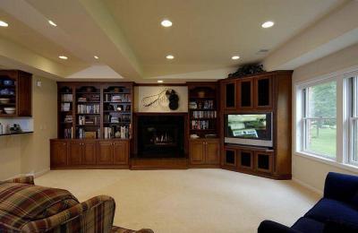 Nagy terű nappali - nappali ötlet, klasszikus stílusban