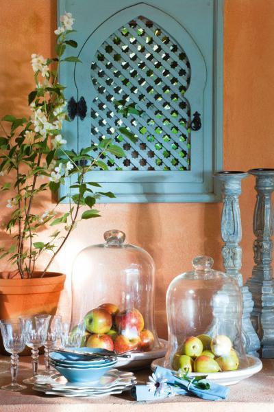 Mediterrán elrendezés - konyha / étkező ötlet, mediterrán stílusban