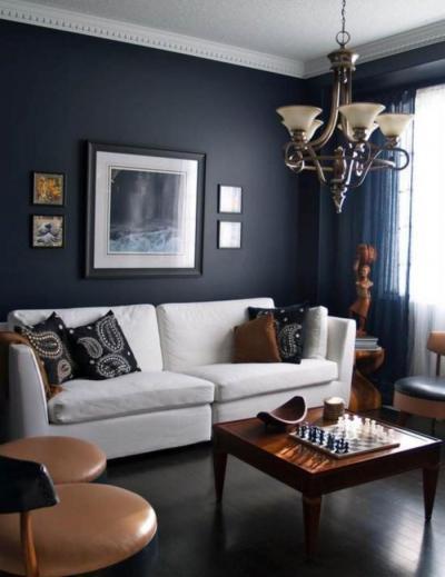 Elegáns nappali - nappali ötlet, modern stílusban