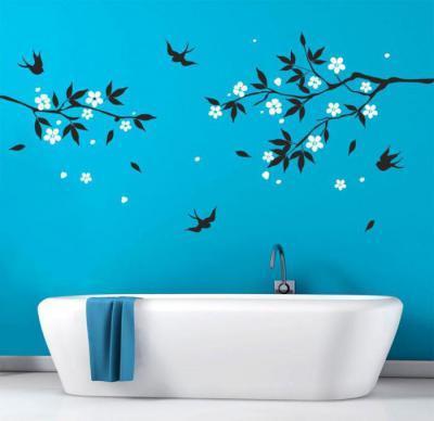 Falmatricás fürdő2 - fürdő / WC ötlet, modern stílusban