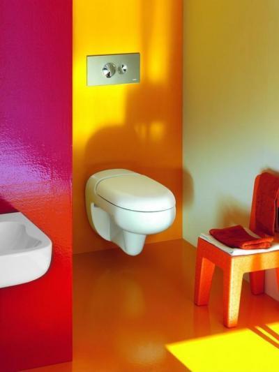 Színes fürdőszoba // HOMEINFO.hu - Inspirációtár