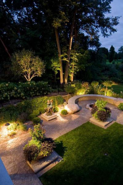 Szép kert - kert / udvar ötlet, klasszikus stílusban