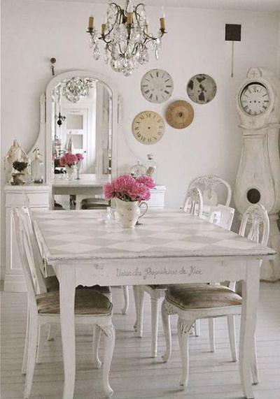 Feliratos asztal - konyha / étkező ötlet, klasszikus stílusban