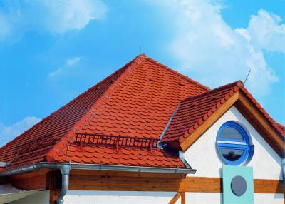 Creaton tetőcserép - tető ötlet, modern stílusban