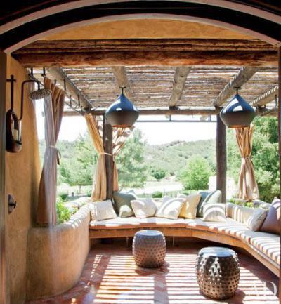 Mediterrán boltív - erkély / terasz ötlet, mediterrán stílusban