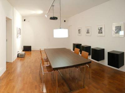 Étkező/tárgyaló - nappali ötlet, modern stílusban