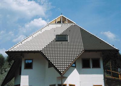 Creaton tetőcserép - homlokzat ötlet, modern stílusban