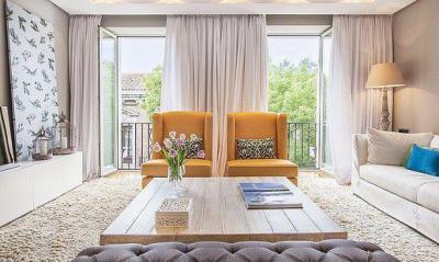 Fő a szimmetrikusság  - nappali ötlet