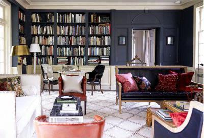 Öreg színek - nappali ötlet, klasszikus stílusban