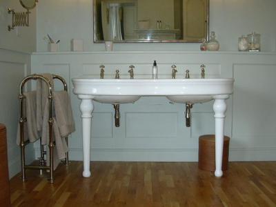 Klasszikus fürdő - fürdő / WC ötlet, klasszikus stílusban