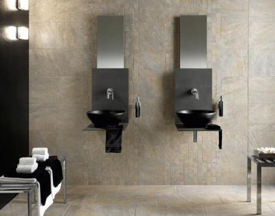 Dupla mosdótál  - fürdő / WC ötlet, modern stílusban