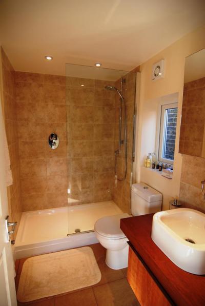Kis fürdő - fürdő / WC ötlet, mediterrán stílusban
