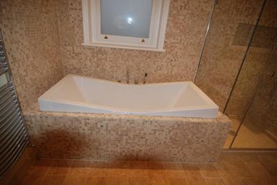 Stílusos kád - fürdő / WC ötlet, modern stílusban