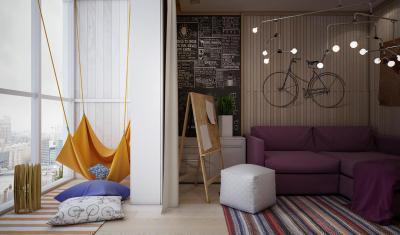 Tini szoba - gyerekszoba ötlet, modern stílusban