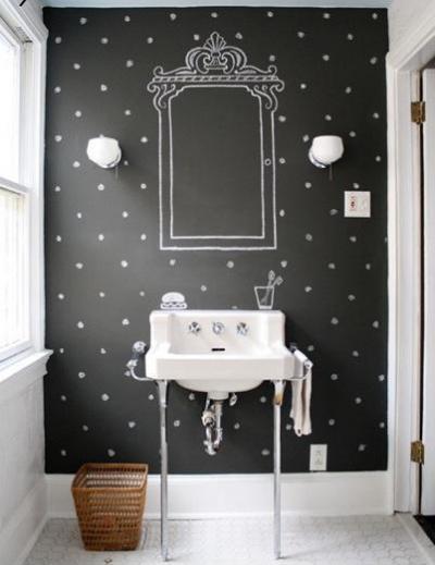 Különleges fürdő - fürdő / WC ötlet, modern stílusban