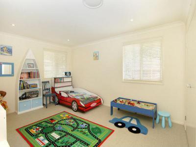 Autós szoba - gyerekszoba ötlet, modern stílusban