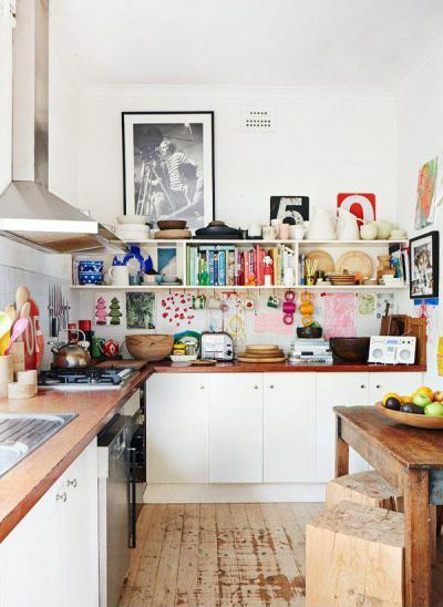 Családi konyha - konyha / étkező ötlet, modern stílusban