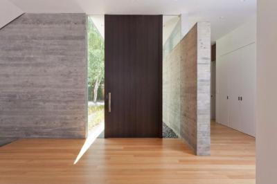 Látványos bejárat - előszoba ötlet, modern stílusban