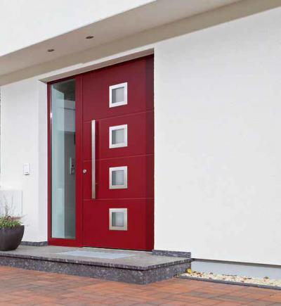 Modern bejárati ajtó - bejárat ötlet, modern stílusban
