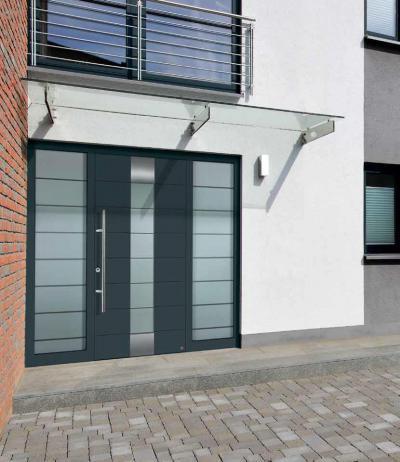 Modern bejárati ajtó - bejárat ötlet