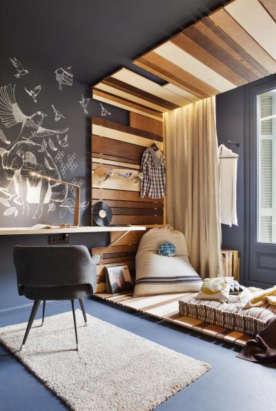Kamasz szoba - háló ötlet, modern stílusban