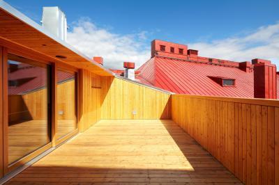 Paasitorni Hotel és Konferenciaközpont - erkély / terasz ötlet, modern stílusban