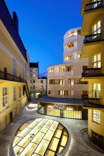 Paasitorni Hotel és Konferenciaközpont - homlokzat ötlet, klasszikus stílusban