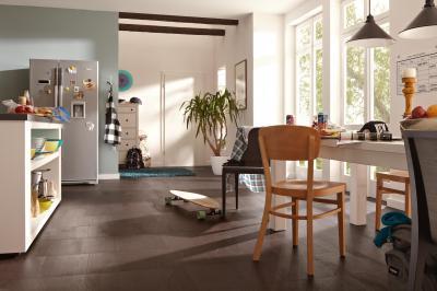 Az ellenálló konyhakő - konyha / étkező ötlet, modern stílusban