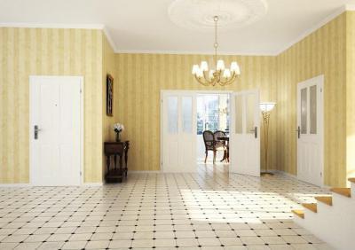 A klasszikus és tartós szépségű ajtó - előszoba ötlet, klasszikus stílusban