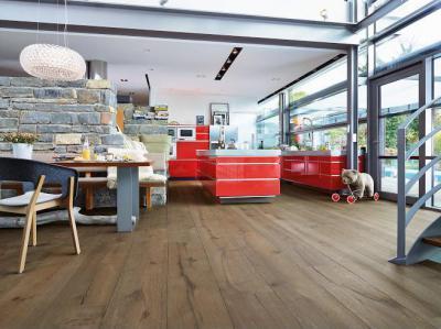 Praktikus, időtálló padlóburkolat! - konyha / étkező ötlet