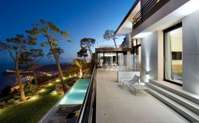 Kilátás a tengerre2 - erkély / terasz ötlet, modern stílusban