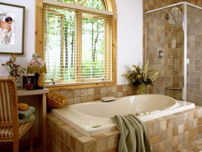 Mediterrán fürdő - fürdő / WC ötlet, mediterrán stílusban