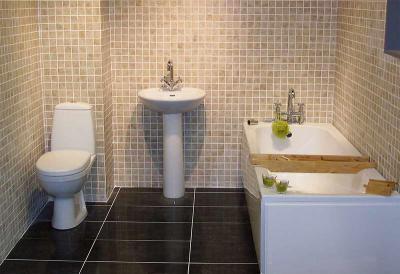 Barátságos fürdő - fürdő / WC ötlet, modern stílusban