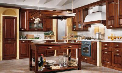 Klasszikus konyha - konyha / étkező ötlet, klasszikus stílusban