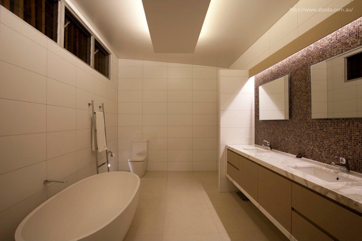 Világítás a fürdőszobában // HOMEINFO.hu - Inspirációtár